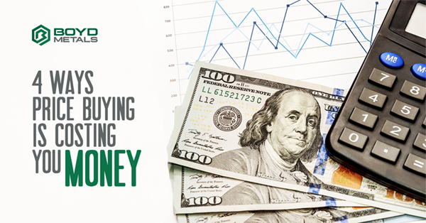 4 Ways Price Buying is Costing You Money
