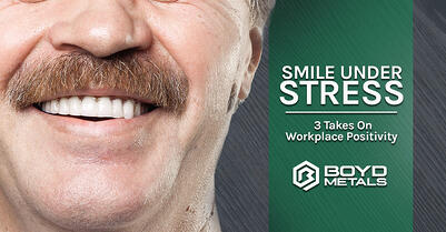 Smile Under Stress: 3 Takes on Workplace Positivity