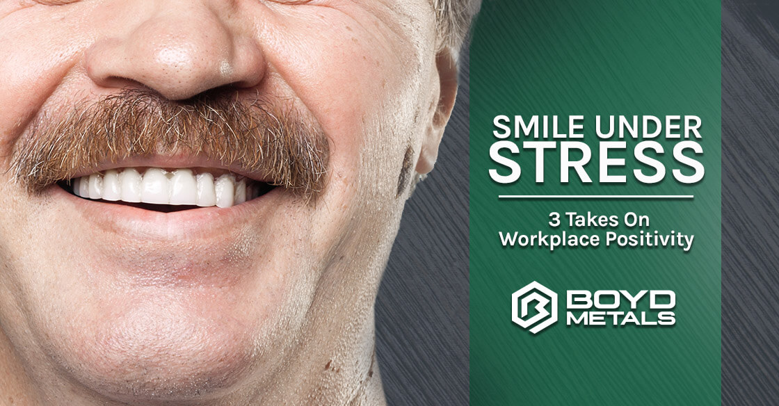 Smile Under Stress - 3 Takes on Workplace Positivity