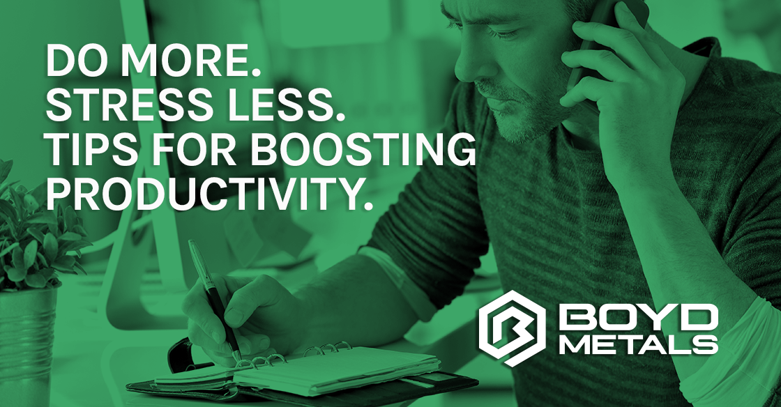 Tips for Boosting Productivity