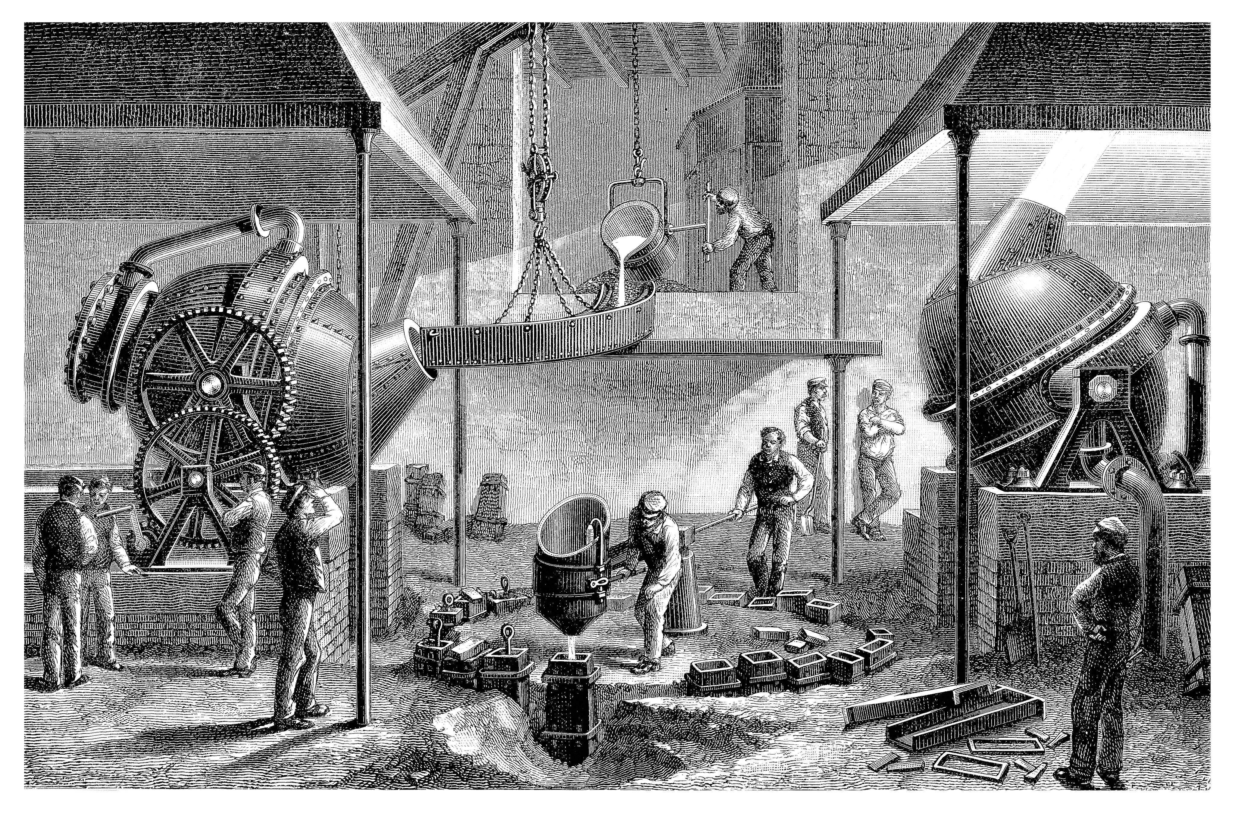 19th Century Steel Mill