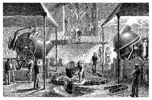 19th Century Steel Mill