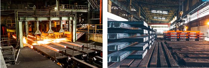 Modern Steel Mill