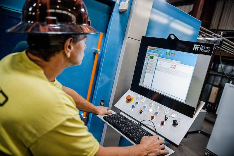 Boyd Metals Prima Power Laser Machine