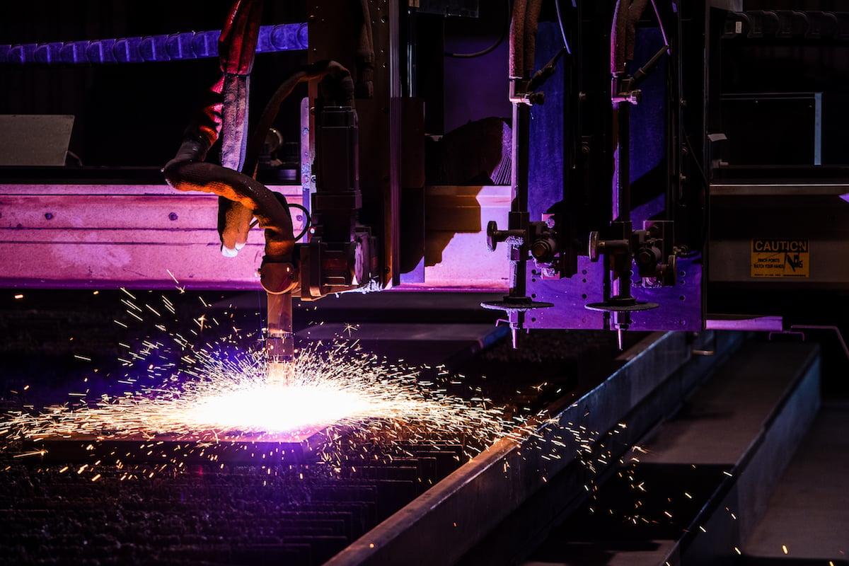 Boyd Metals Plasma Cutting Equipment