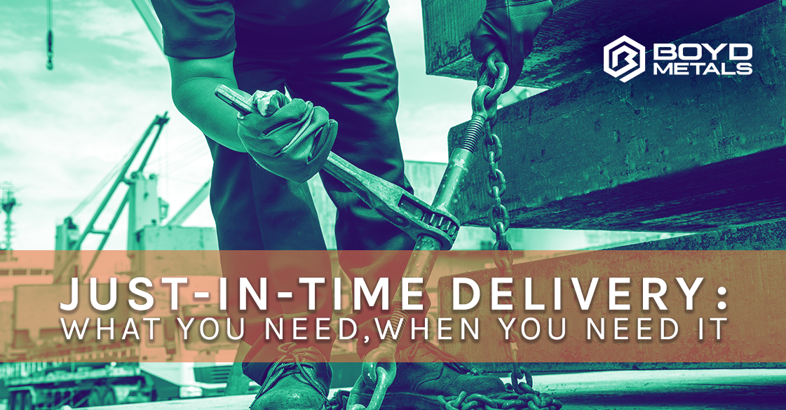 Just-In-Time Delivery: What You Need, When You Need It